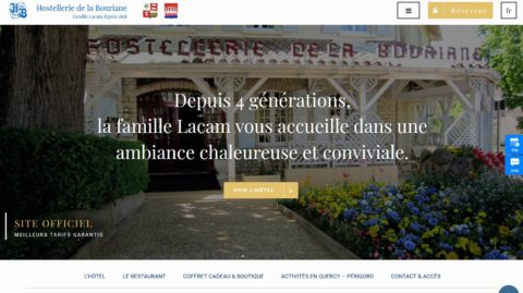 Hostellerie de la Bouriane – Famille Lacam depuis 1898