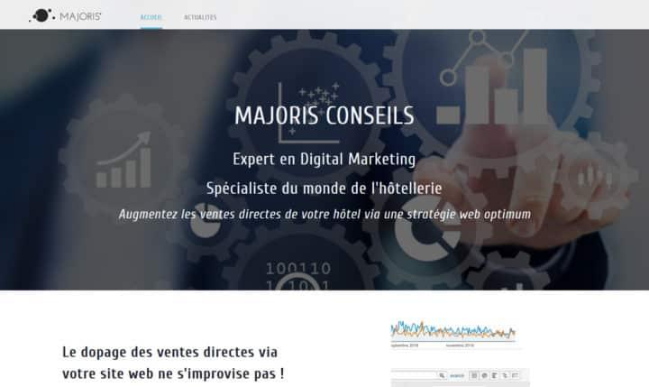 Nouveau site web Majoris conseil