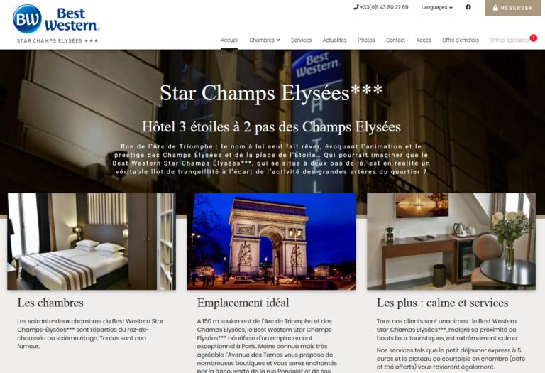 Star Champs Elysées